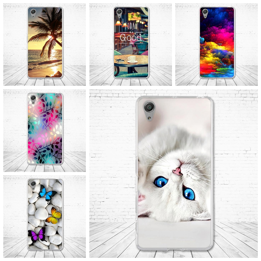 Case for Sony Xperia X Performence F8131 F8132 Back Soft TPU Cover for sony xperia x performance 5.0 inch Silicone Shells Fundas