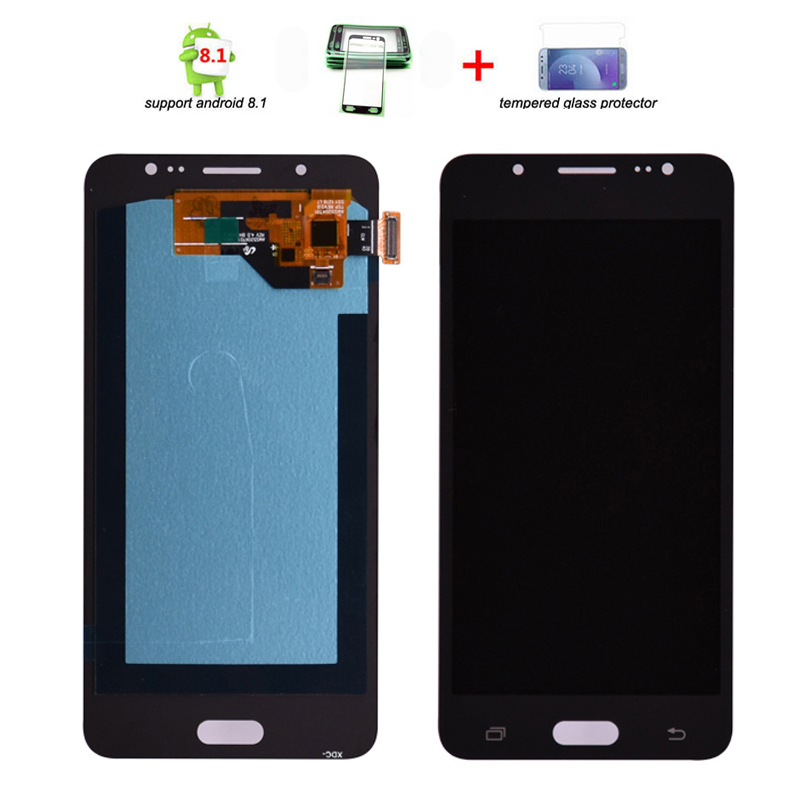 Super AMOLED LCD For Samsung Galaxy J5 2016 J510 LCD Display Touch Screen Digitizer Assembly for