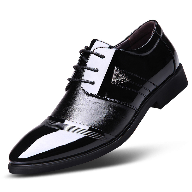 Aliexpress.com  Buy 2107 Man Leather Dress Shoes Italian Business Designer Increase Breathable ...