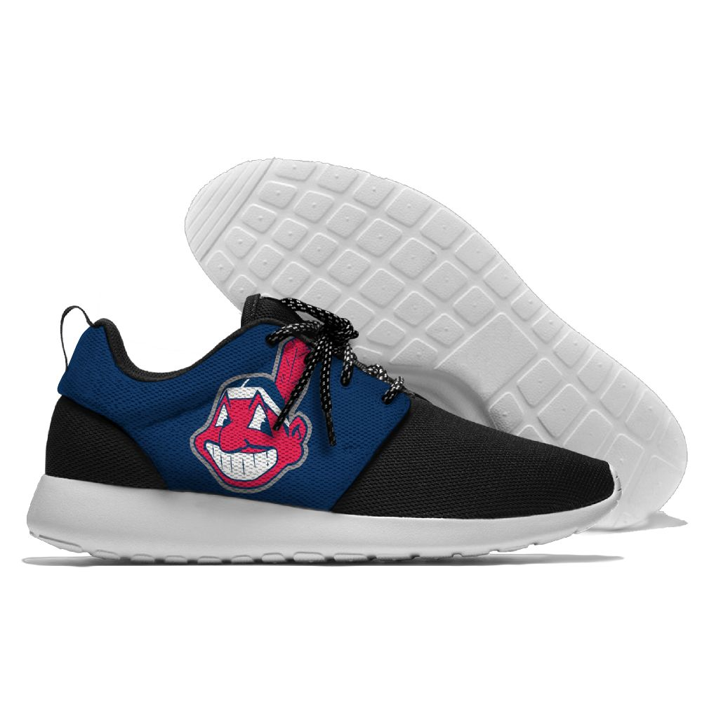 Mens and womens Sneaker Lightweight Cleveland Indians Walking Cool Comfort Sports Running Shoes