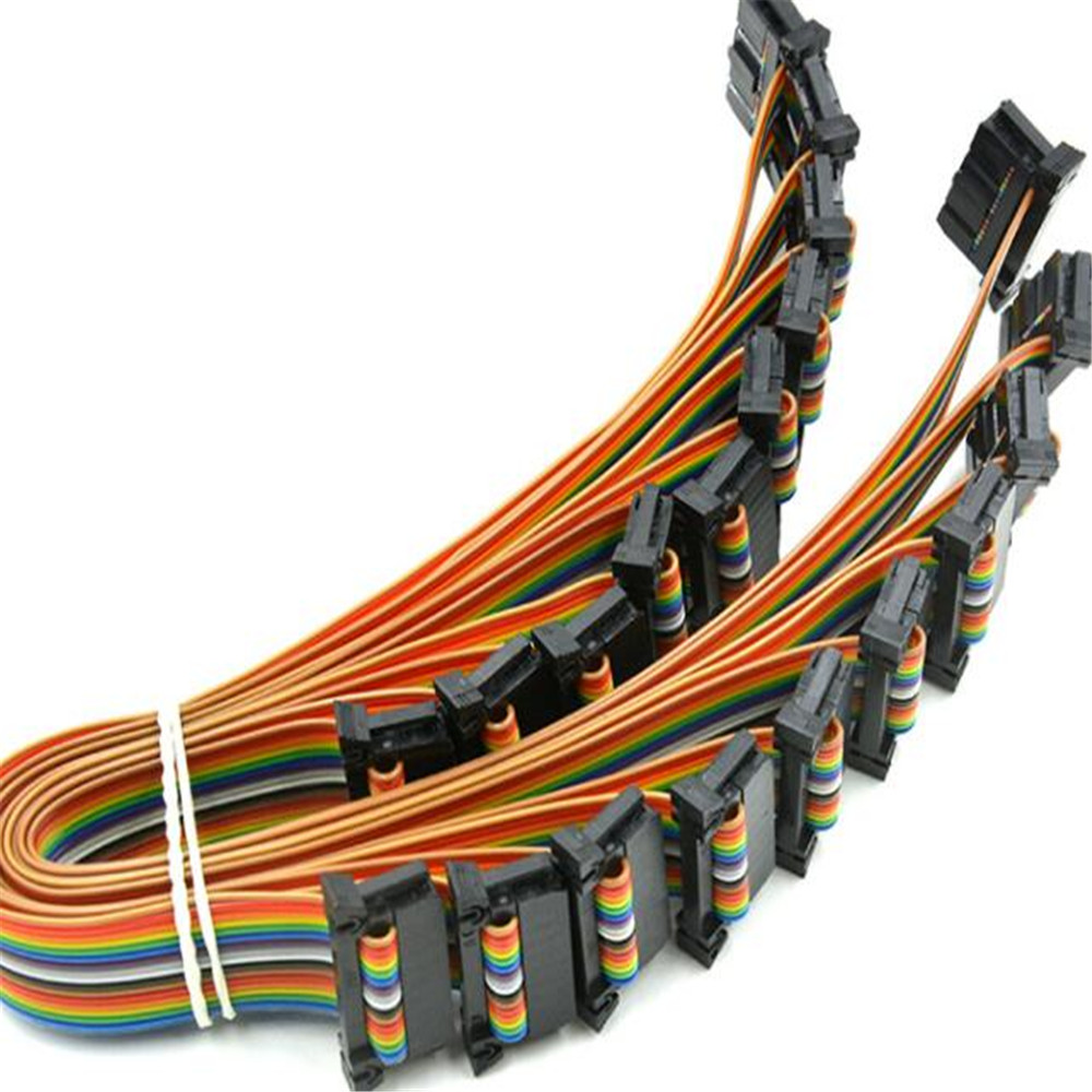 20180330 xiangli hot sale 86286 IDE Cables terminal red wire 5 colours 69 99