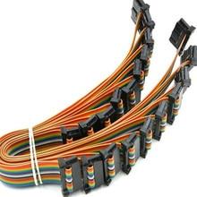 20180330 xiangli горячая Распродажа 86286 ide-кабели терминала красный провод 5 цветов 69,99