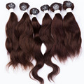 EVET Human Virgin Hair Weave Natural Wave Hair Weaving 7A Top Grade 6pcs 200g/Set Unprocessed Virgin Human Hair Extensions