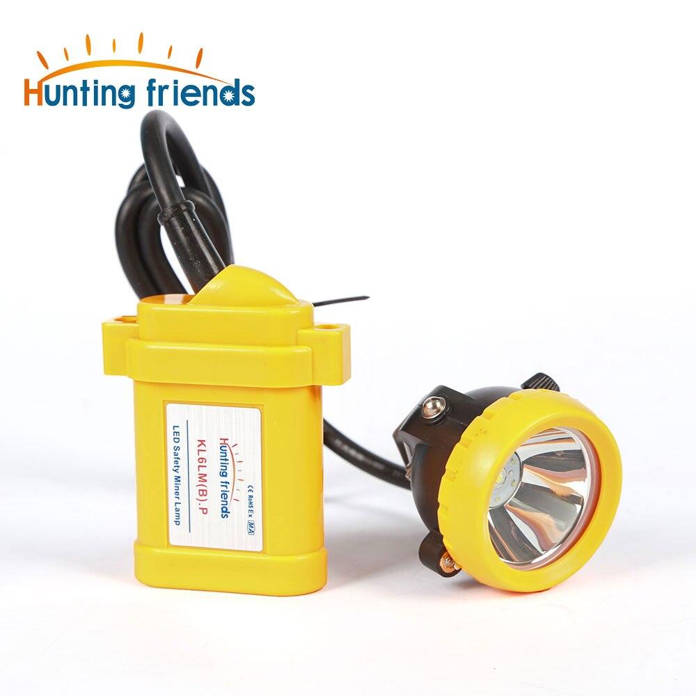 Işıklar ve Aydınlatma'ten Kafa Lambaları'de Madencilik far KL6LM (B). P madenci kaskı lambası maden lambası lityum pil kömür madencisi far patlama Rroof ışıkları sert şapka title=