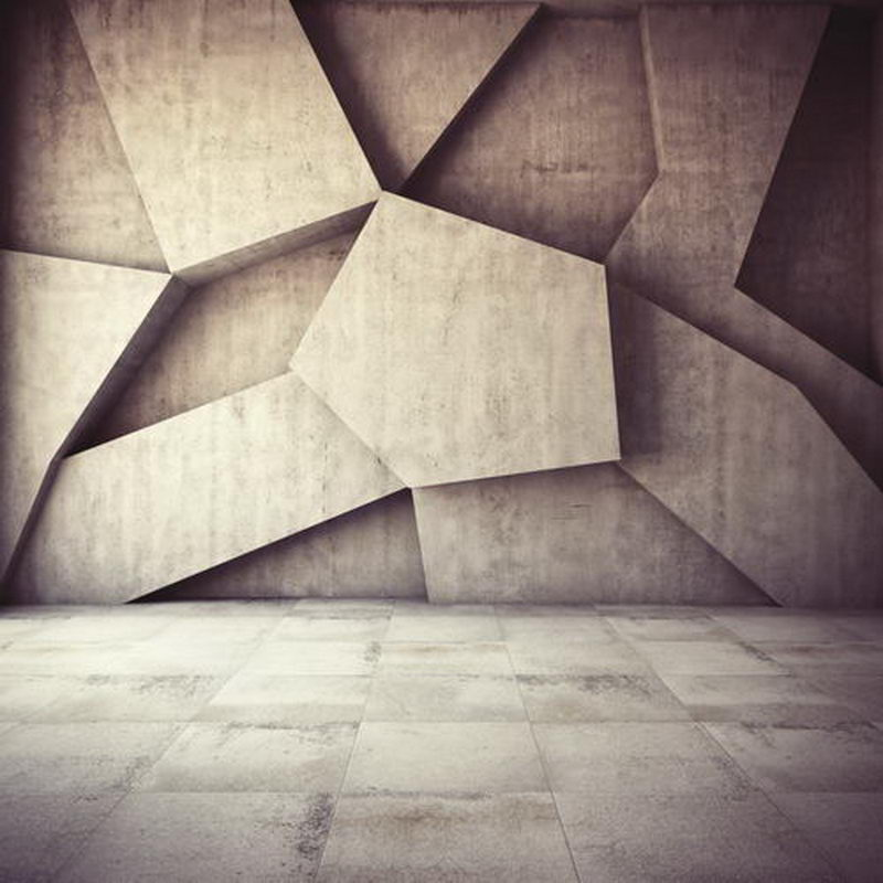 Custom vinyl cloth modern three dimensional brick wall ...