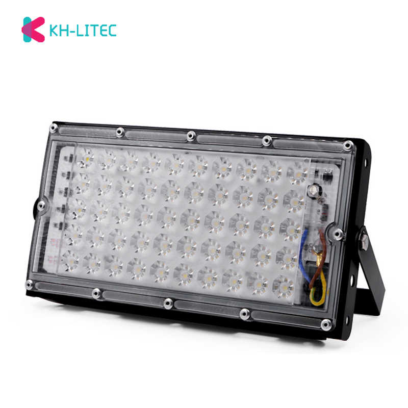 50W perfect power LED Flood Light Floodlight LED street Lamp 220V 240V waterproof Landscape Lighting IP65 led spotlight