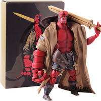 1000 Toys Dark Horse Hellboy Figure 1/2 Scale Action Figure PVC Collectible Model Toy