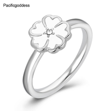 2018 hot sell FIVE HEART sharp ring for wedding engagement rings beautiful girl