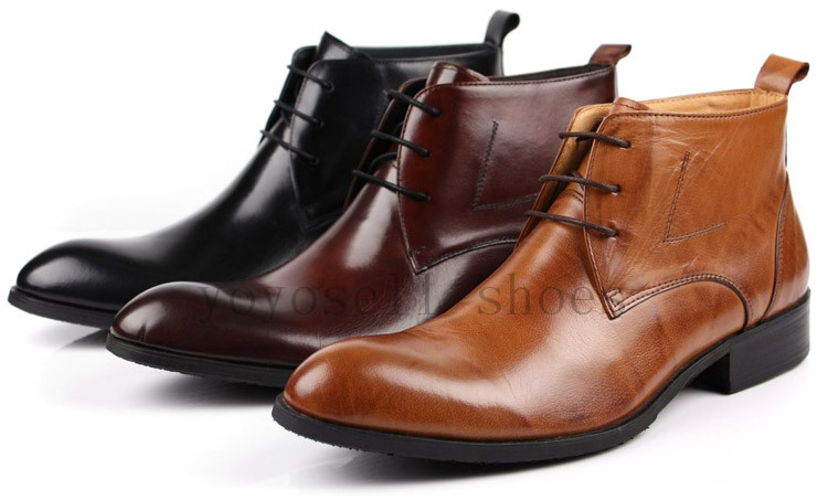 Compare Prices on Brown Leather Ankle Boots Men- Online Shopping