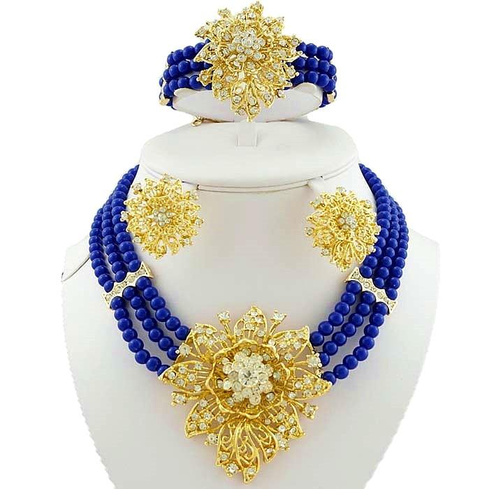 աֆրիկյան զարդերի հավաքածուներ - Նորաձև զարդեր - Լուսանկար 2