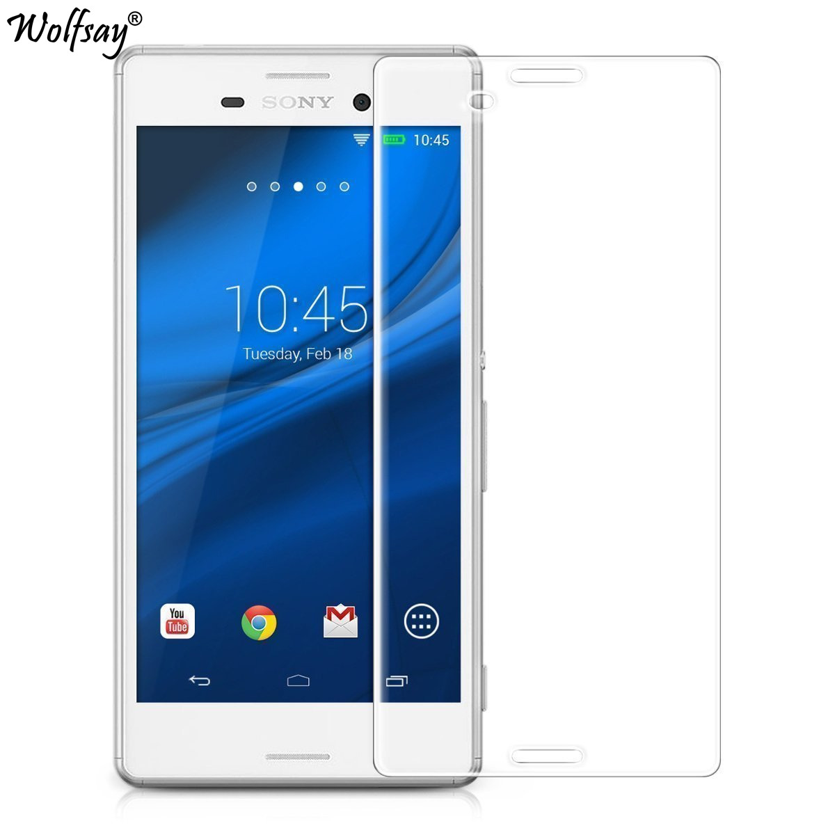 2pcs For Glass Sony Xperia M4 Aqua Screen Protector Tempered Glass sFor Sony Xperia M4 Aqua glass For Sony M4 Aqua E2303 E2333