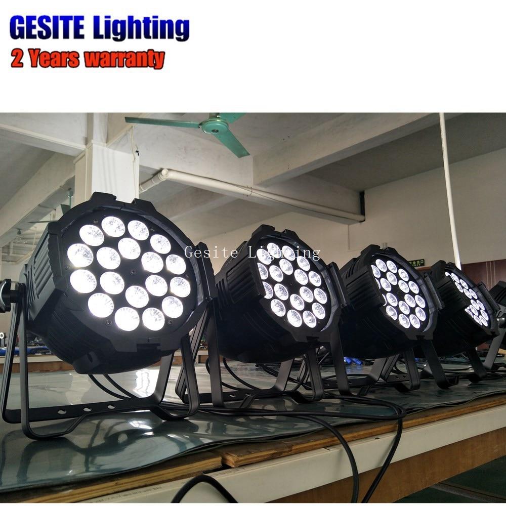 8 pçs lote Mini LED Par Pode