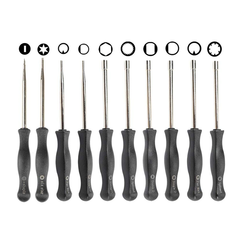 10 Pcs Tune up Carburetor Adjusting Screwdriver Tool Kit with Carb Cleaning Needles Brushes for Walbro Zama Ryobi Stihl Echo T fashion women shoes winter ankle boots brand black flat heel shoes autumn buckle strap round toe short boots woman plus size ce