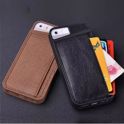 Fortxen Wallet Case For Iphone 5s 5 Se With Credit Card
