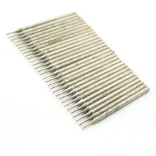 30Pcs Diameter 0.6mm Electroplated Diamond Coated Hole Saw Drill Solid Bits for Jewelry Gems Glass Tile Ceramic Marble Granite