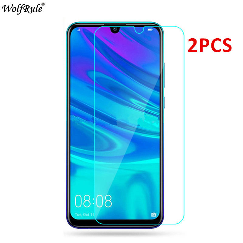 2Pcs For Huawei Y7 2019 Glass P Smart Honor 9X Screen Protector Tempered Glass For Huawei P Smart Z Glass Protective Phone Film