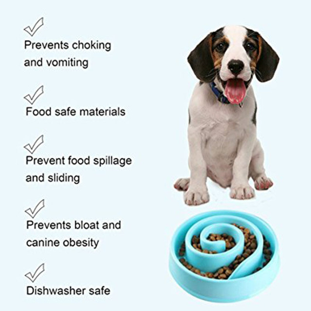Pet Prevent Obesited Feeding Bowls