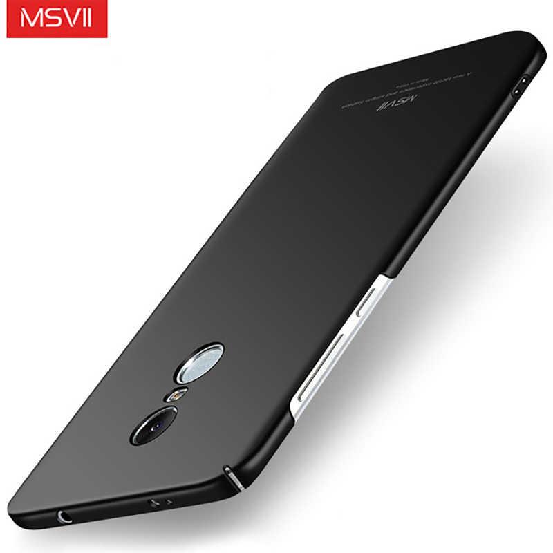 Msvii противоударный чехол для телефона крышка ПК на для ксиоми редми нот 4 4х Xiaomi Redmi Note 4 4X x Note4 Note4X премьер Pro 2/ 3/4 16/32/64 ГБ xiomi