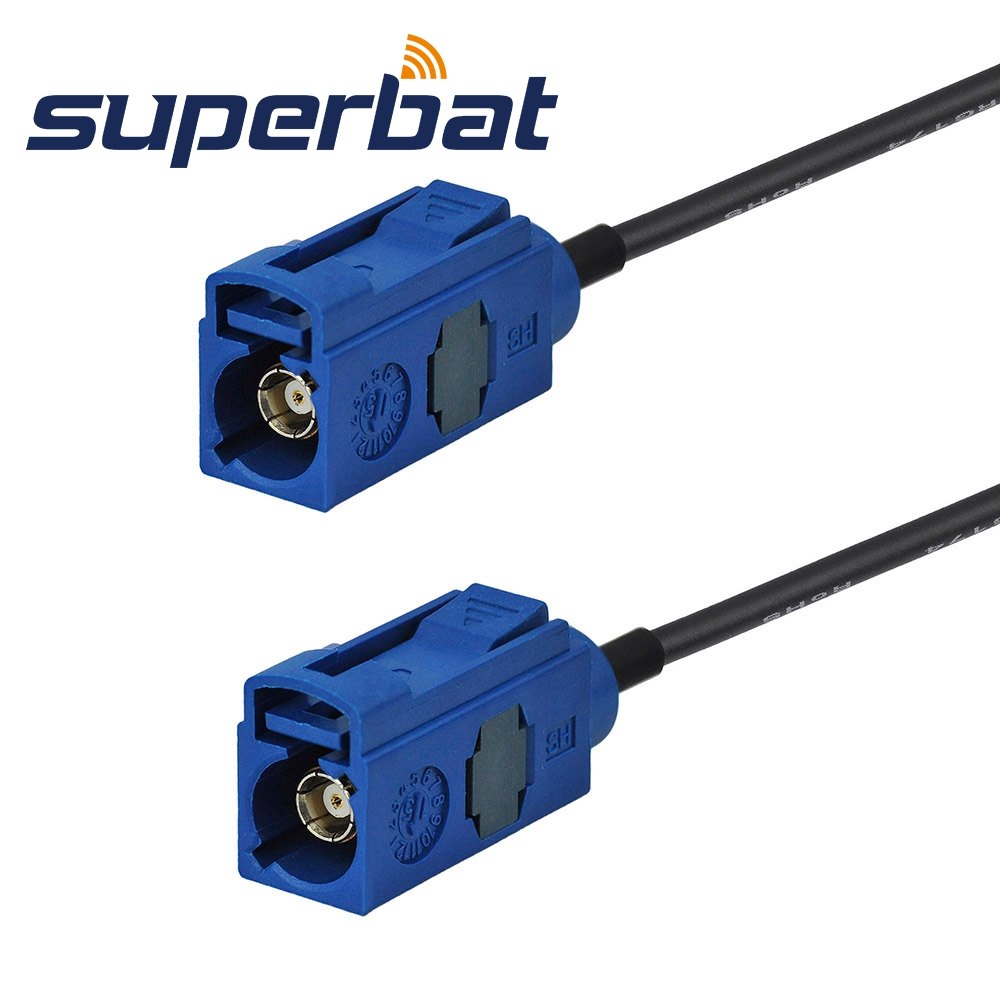"Superbat Fakra ""C"" Female Jack Straight to Fakra ""C"" Jack Straight Pigtail RG174 6M GPS Antenne Extension Cable"