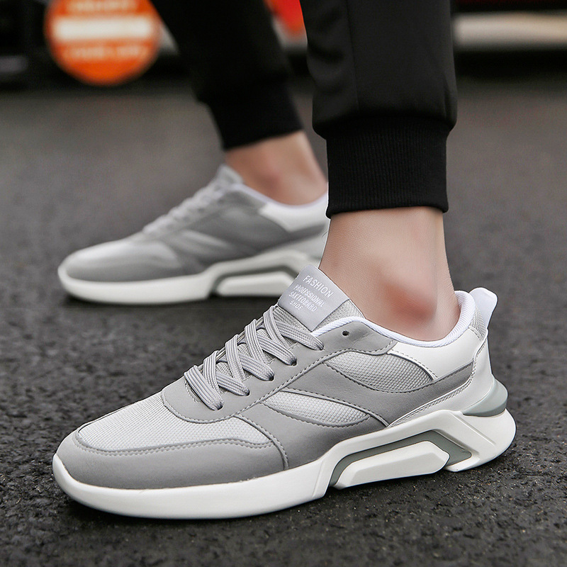 Air Mesh Fashion Sneakers Men Casual Shoes Flat Breathable Lace-Up Sneakers Male Shoes Men's Footwear Light Casual Shoes AET655 cajacky unisex sneakers 2018 mesh casual shoes men mesh lace up male fly weave krasovki men fashion light breathable trainers