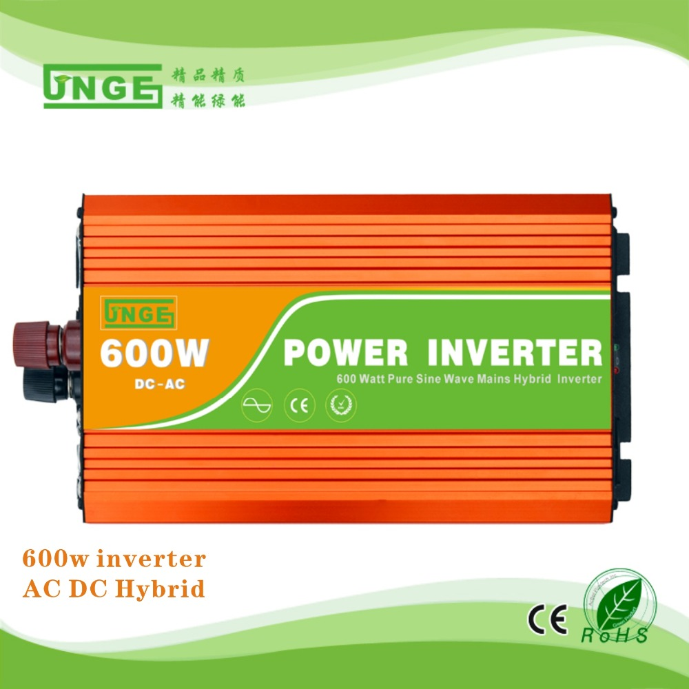 Подробнее о Peak Power 1200W ! 600Watt DC-AC 48V input pure sine wave hybrid solar inverter / Car Portable Inverter / USB Charge Converter 1200w 48v to 120v watt power inverter 48v inverter 120v power inverter modified sine wave form dc ac house power inverter 1200