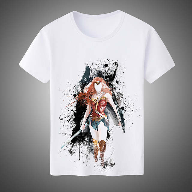 791df948 Online Shop Summer Fashion Men's/Women's T-shirts Super Hero Wonder Woman  Cosplay Costumes Unisex Short-Sleeved Tees Plus Size | Aliexpress Mobile