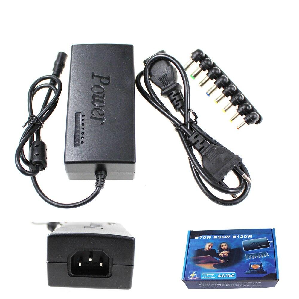 DC 12 V/15 V/16 V/18 V/19 V/20 V/24 V 4-5A 96W Ноутбук AC универсальный адаптер питания зарядное устройство для ASUS DELL Lenovo Sony Toshiba ноутбука