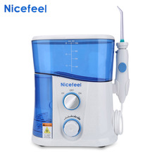 цены Water Flosser Dental Water Pick Oral Irrigator Dental Spa Unit Professional Floss Oral Irrigator 7Pcs Jet Tip 600ML Water Tank