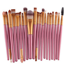 Set of 20 Makeup Brushes for Women