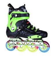 XUANWU Patin À Roulettes Chaussures X5 Adulte Patins À Glace Rouleau De Patinage PVC En-ligne Skate Hommes ou Femmes Slalom Chaussures