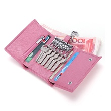 Mens retro leather coin purse multi-function wallet mens genuine card holder little girl purses