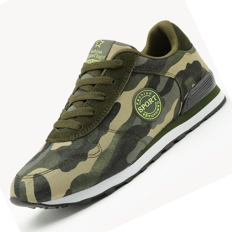 Fashion Men Women Casual Shoes Women Men Desert Camouflage