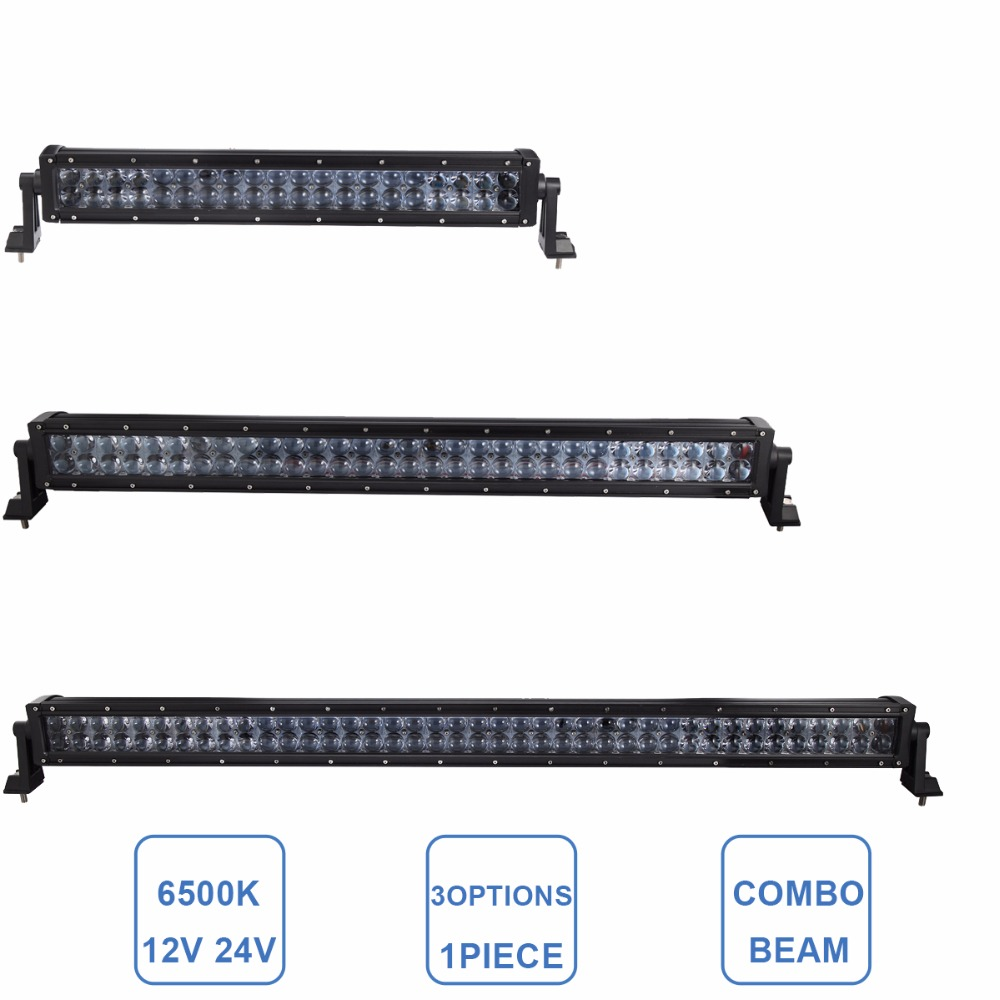 22 32 42 Inch Offroad LED Light Bar 120W 180W 240W Boat Car Truck 4x4 SUV ATV Auto Trailer 4WD Camper Wagon Combo Driving Lamp