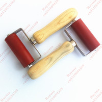 Free Shipping 2 Pcs 80mm Silicone Press Roller For Hot Air Welder Hot Air Gun Heat