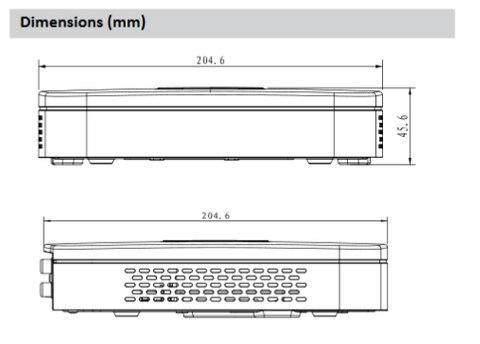 8ch 16ch rede gravador video
