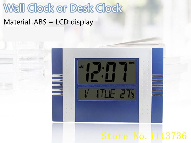 29cm Modern Design Digital Large Big Lcd Time Cale...