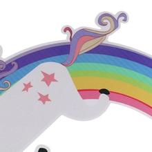 Cartoon Rainbow Unicorn Wall Sticker