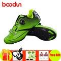 BOODUN fietsschoenen road sapatilha ciclismo fiets pedalen outdoor sneakers zelfsluitende sneakers Athletic bike superster schoenen