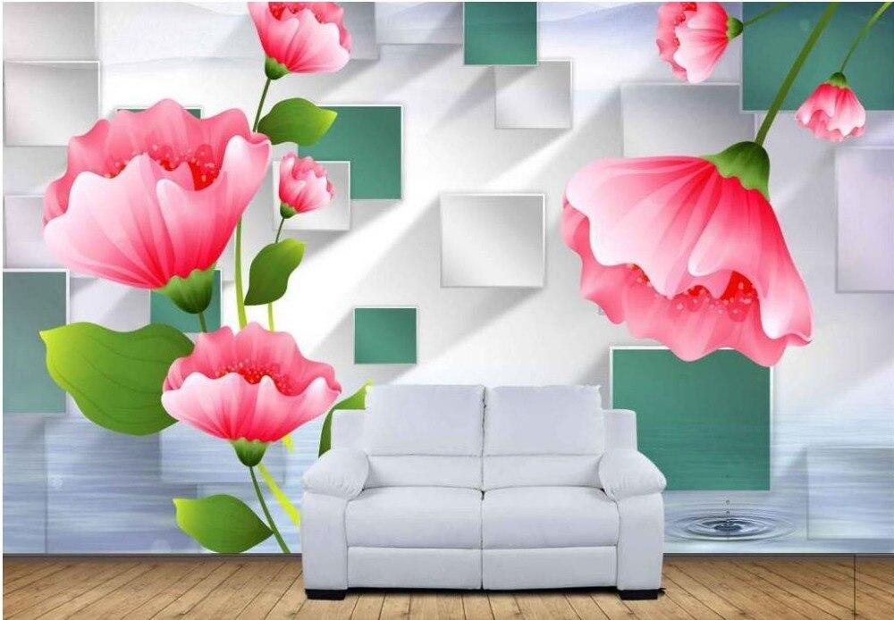 Papel pintado para paredes paisajes papel pintado para paredes paisaje hierba flor cala mural - Papel pintado paisajes ...