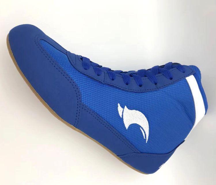Unisex 3 colores zapatos de lucha de combate zapatos de lucha de gimnasio deporte entrenamiento zapatillas de boxeo
