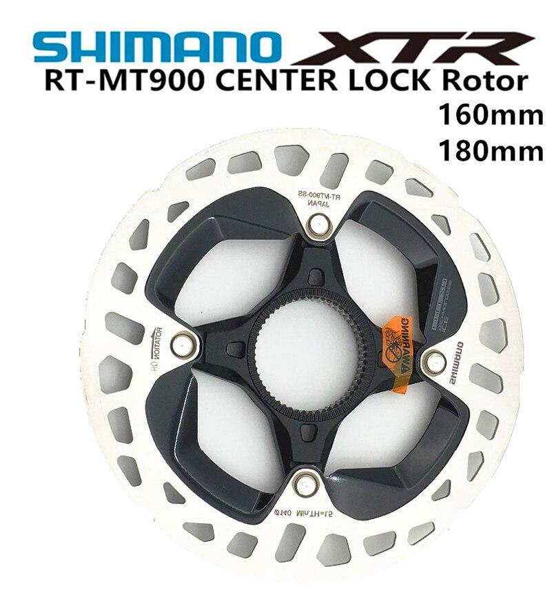SHIMANO DEORE XTR SM RT-MT900 technologie de pointe de glace vtt frein disque de verrouillage central disque Rotor RT-MT900 de montagne RT99 160 MM 180 MM