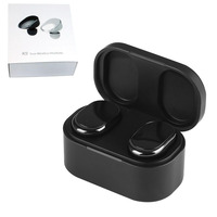 LANCASE K9 Earphone Original Touch Control TWS Bluetooth V5.0 Deep Bass Earphones HiFi Stereo Sound Business style