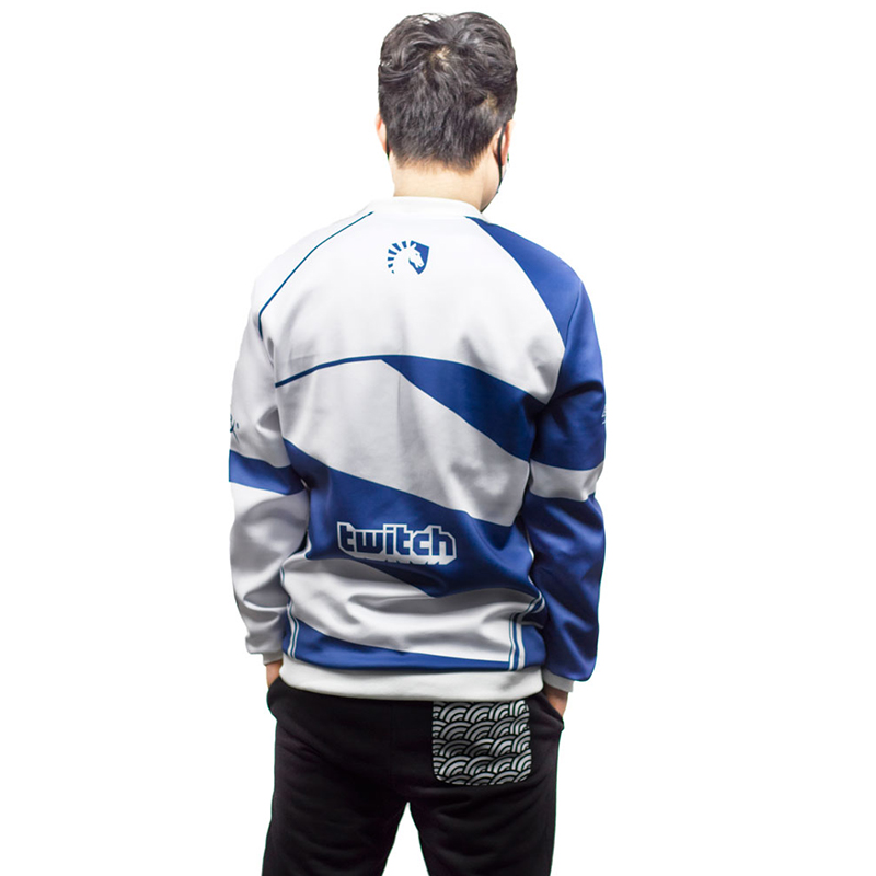 Image 5 - Top quality Custom ID Team Liquid Hoodies Men O neck Long Sleeve Streetwear Casual Sweat Homme Mens Hoodie Sweatshirt-in Hoodies & Sweatshirts from Men's Clothing