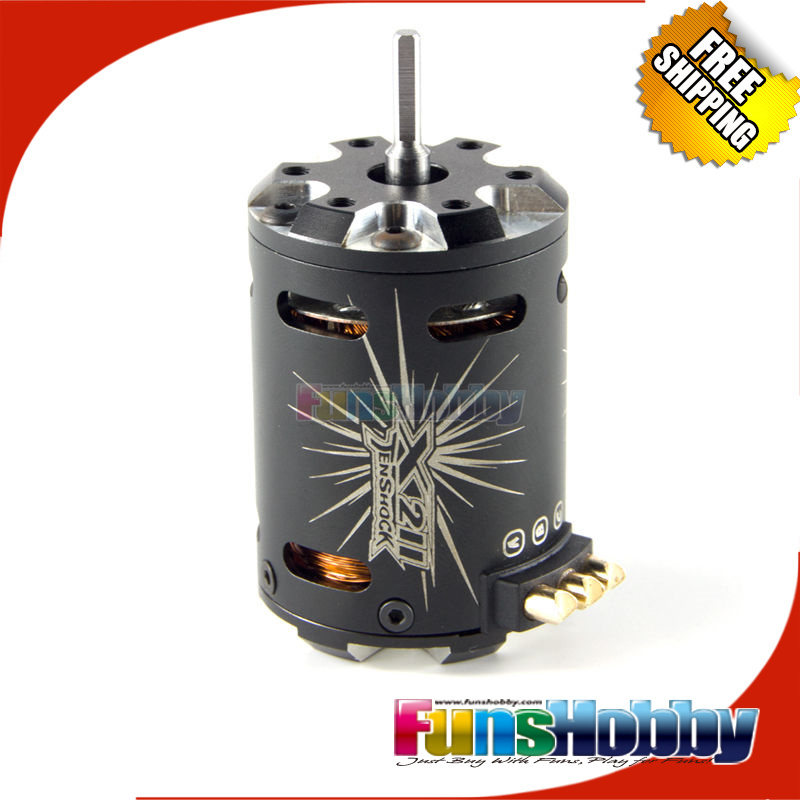 Tenshock 1:10 Off Road On Road 4Pole Electric RC Micro Sensor Brushless DC Motor TS-X211/7.5T/3.5T/4.5T/ 17.5T For 1/10 Drift. 1 8 super permium power combo incl tenshock x812l sensor dc motor