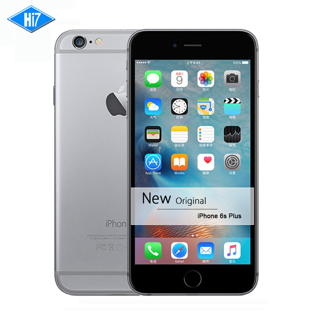 New Original Apple iPhone 6S Plus mobile phone IOS 9 Dual Core 2GB RAM 16/64/128GB ROM 5.5'' 12.0MP Camera LTE iphone6s plus