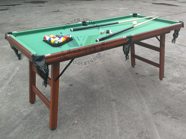 Inch Folding American Pool Table Biilard Table Family Using - Fold up pool table full size