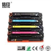 XColor CE320A CE321A CE322A CE323A 128A compatible cartucho de tóner para hp laserjet CP1525N 1525NW CM1415FN 1415FNW impresora