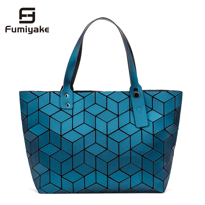 2019 Newest Women Geometric Bag Casual Tote Water Cube Style Handbag Designer Famous Brand Luxury Shoulder Bag Bolsos