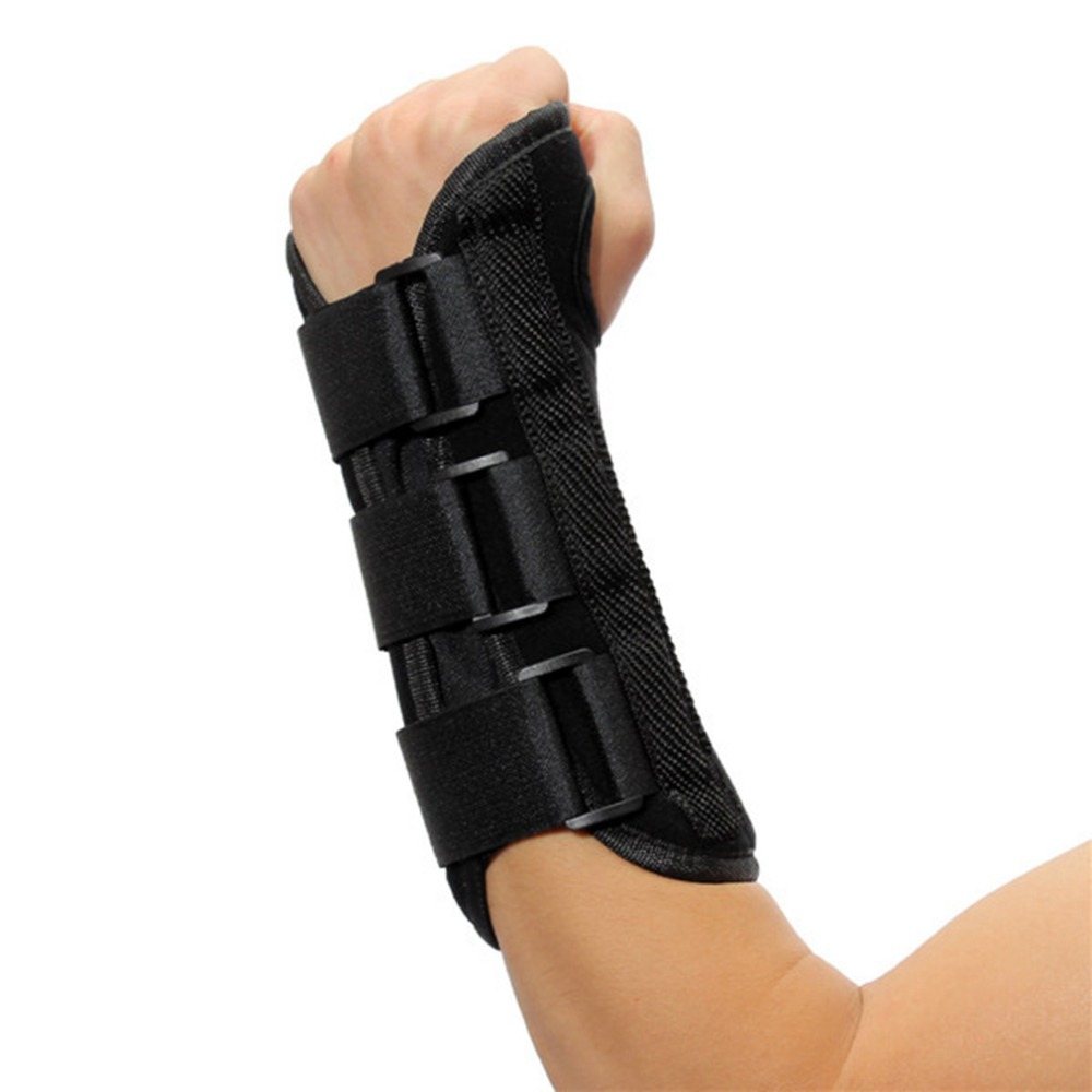 Carpal Tunnel Medical Wrist Support Brace Support Pads Sprain Forearm Splint Band Strap Protector Safe For Left Hand