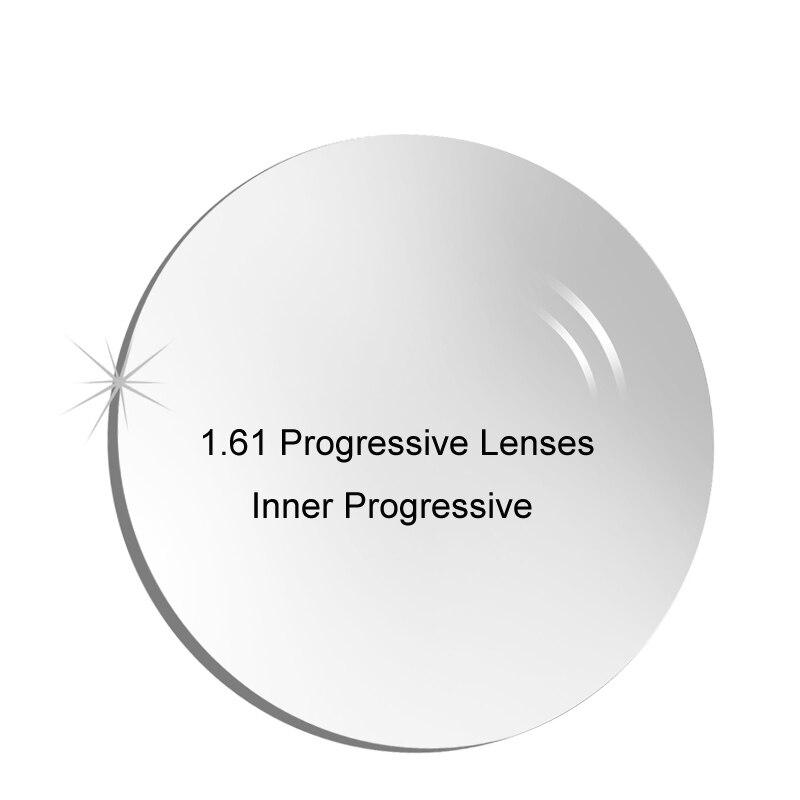 1.61 Intérieure Progressifs Ordonnance Lentilles Livraison Forme Lentille Multifocale pour façon à Un Vue Myopie/Hypermétropie Correctives Lentilles Optiques